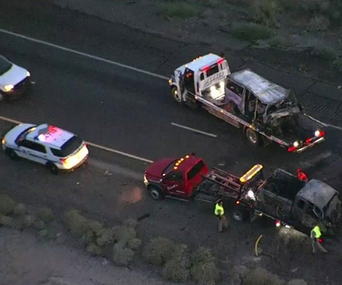Accidents caused by wrong-way drivers